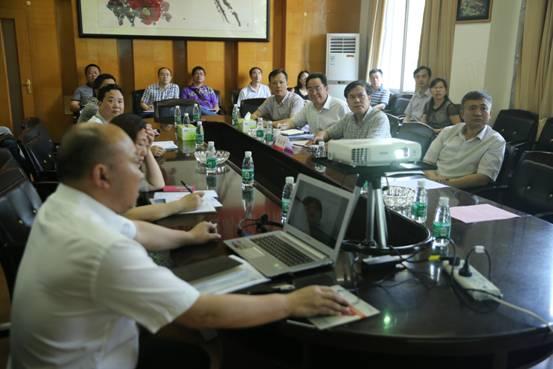王汉青书记在土木工程学院调研座谈会-南华大学土木